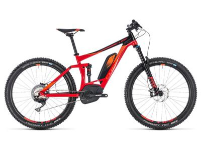 Cube Stereo Hybrid 140 Race 500 27.5 red´n´orange