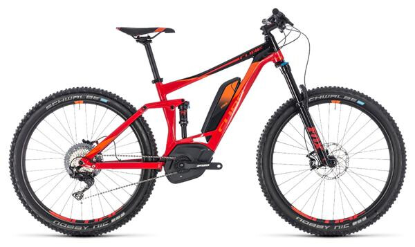 CUBE - Stereo Hybrid 140 Race 500 27.5 red´n´orange