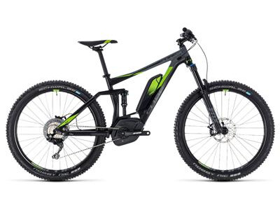 Cube Stereo Hybrid 140 Race 500 27.5 black´n´green
