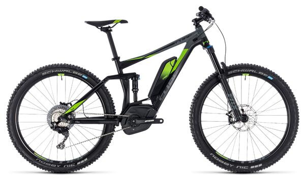 CUBE - Stereo Hybrid 140 Race 500 27.5 black´n´green