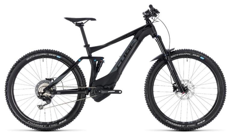 CUBEStereo Hybrid 140 Pro 500 27.5 black´n´grey
