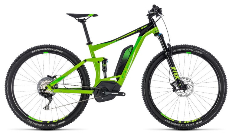 CUBEStereo Hybrid 120 EXC 500 green´n´leaf green