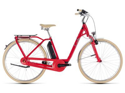 Cube Elly Cruise Hybrid 500 FL red´n´mint