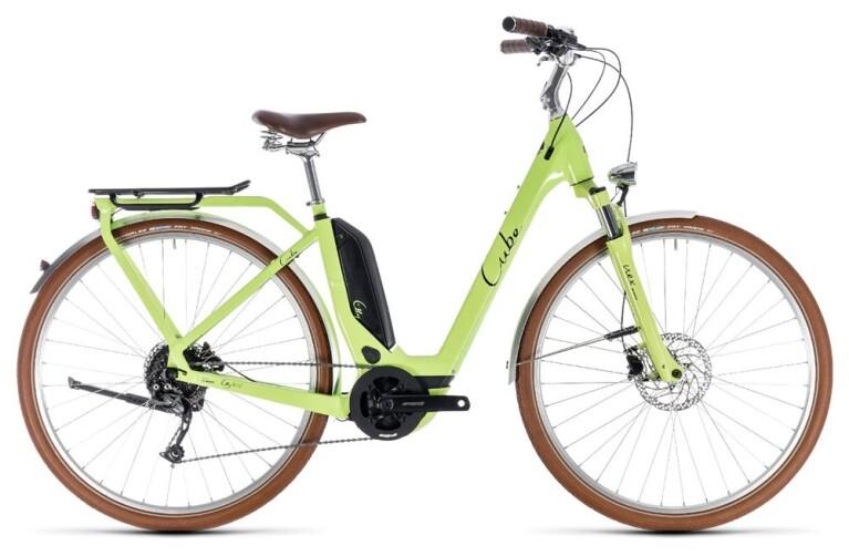 CUBEElly Ride Hybrid 500 green´n´black