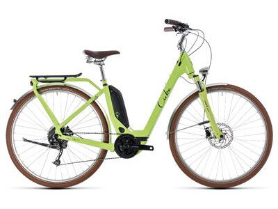 Cube Elly Ride Hybrid 400 green´n´black
