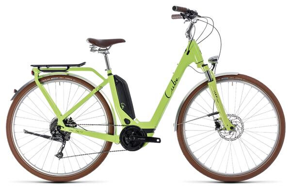 CUBE - Elly Ride Hybrid 400 green´n´black