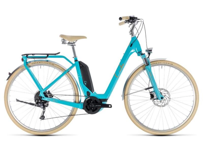 Cube Elly Ride Hybrid 500 aqua´n´orange