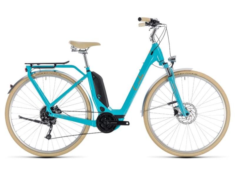 Cube Elly Ride Hybrid 400 aqua´n´orange