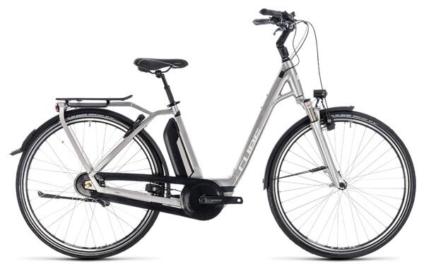 CUBE - Town Hybrid EXC 500 silver´n´white