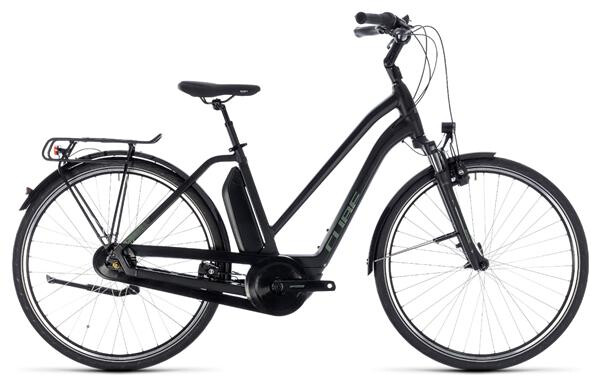 CUBE - Town Hybrid ONE 400 black´n´frostgreen