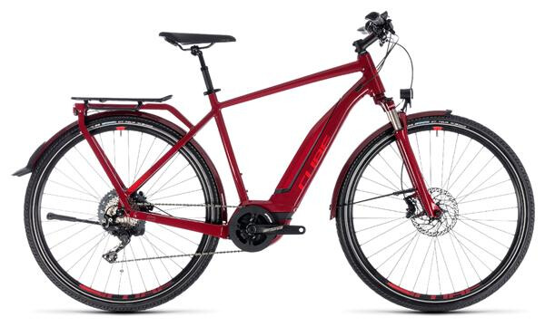 CUBE - Touring Hybrid EXC 500 darkred´n´red