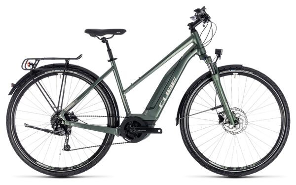 CUBE - Touring Hybrid ONE 500 frostgreen´n´silver