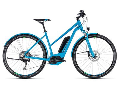 Cube Cross Hybrid Race Allroad 500 blue´n´green RRh50 trapez