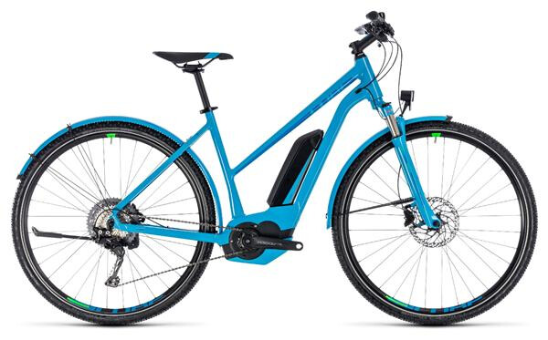 CUBE - Cross Hybrid Race Allroad 500 blue´n´green