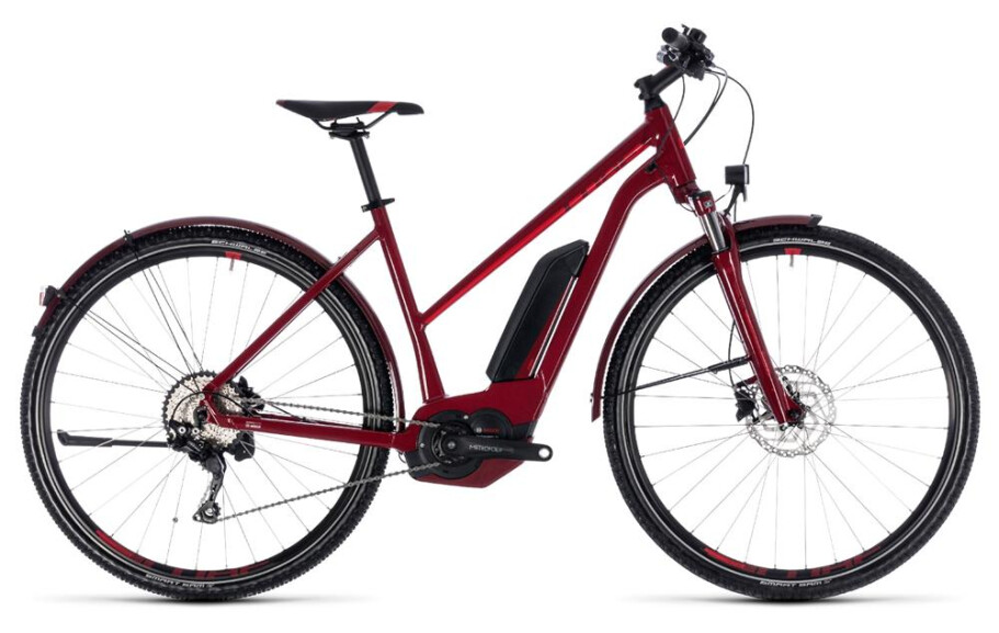 Cube Cross Hybrid Pro Allroad 500 darkred´n´red Rh50 trapez