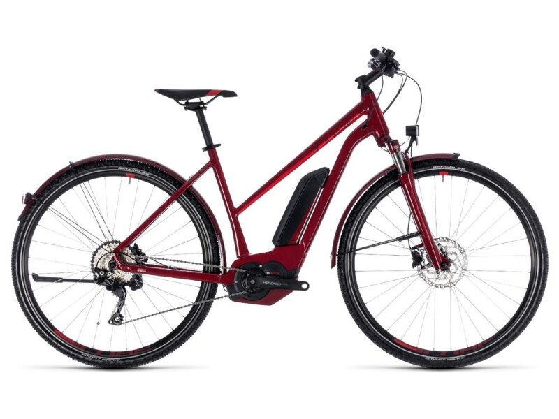 Cube Cross Hybrid Pro Allroad 400 darkred´n´red