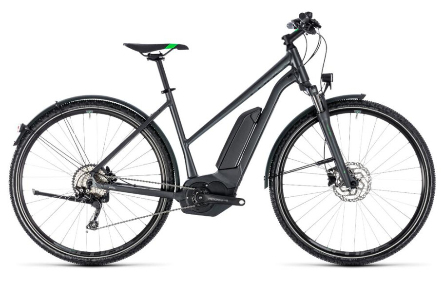 Cube Cross Hybrid Pro Allroad 500 grey n flashgreen