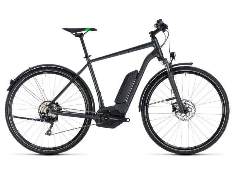 Cube Cross Hybrid Pro Allroad 500 grey´n´flashgreen