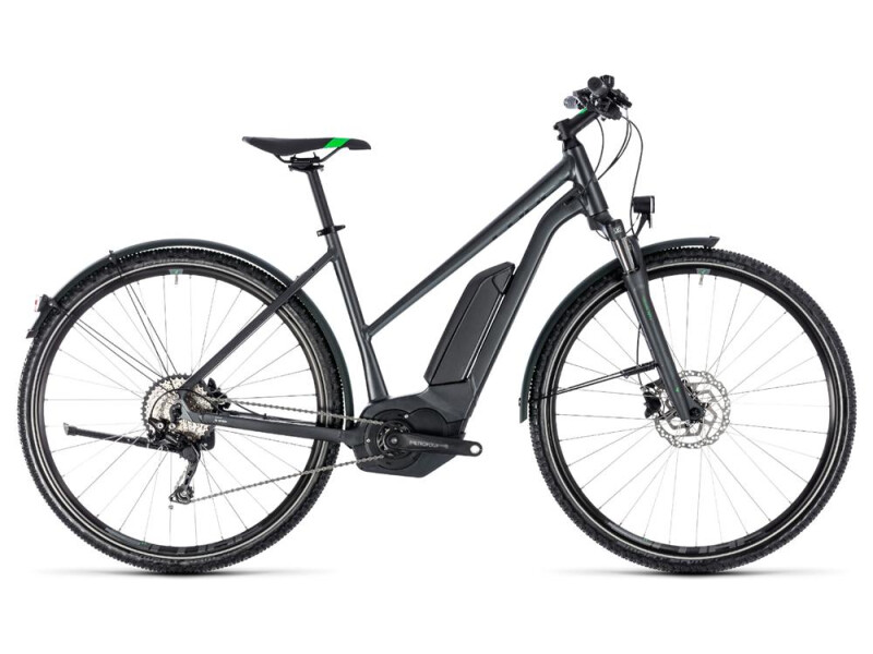 Cube Cross Hybrid Pro Allroad 400 grey´n´flashgreen