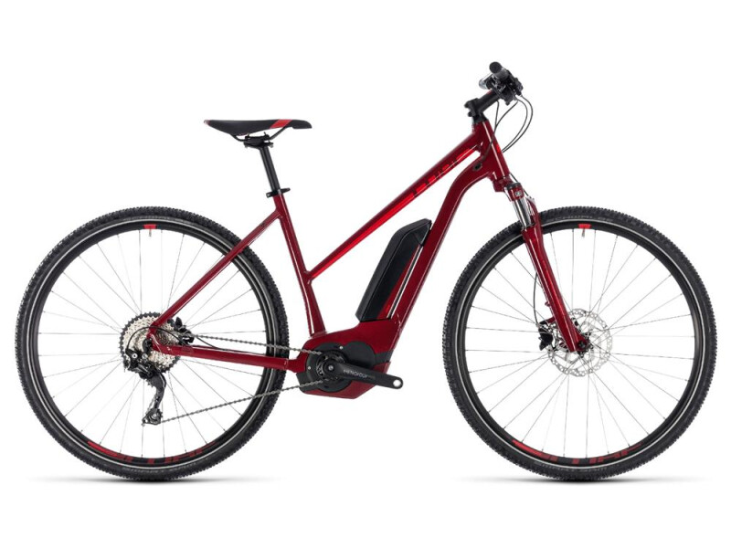Cube Cross Hybrid Pro 500 darkred´n´red