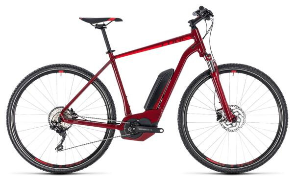 CUBE - Cross Hybrid Pro 500 darkred´n´red