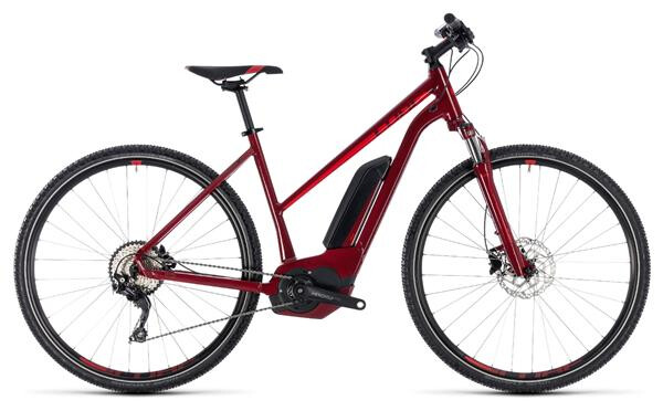 CUBE - Cross Hybrid Pro 400 darkred´n´red