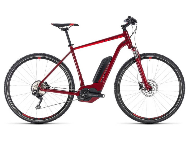 Cube Cross Hybrid Pro 400 darkred´n´red
