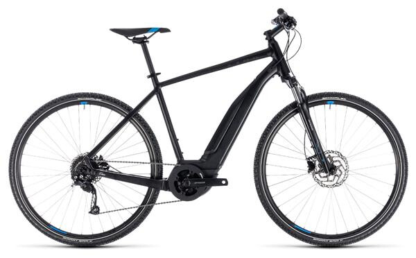 CUBE - Cross Hybrid ONE 500 black´n´blue