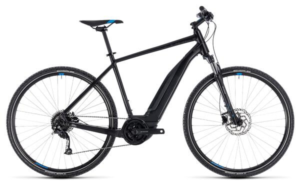CUBE - Cross Hybrid ONE 400 black´n´blue