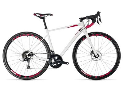Cube Axial WS Pro Disc white´n´berry