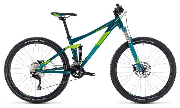 CUBE - Sting WS 120 turkisblue´n´green