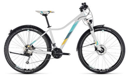 Cube Access WS Pro Allroad white´n´blue, 16