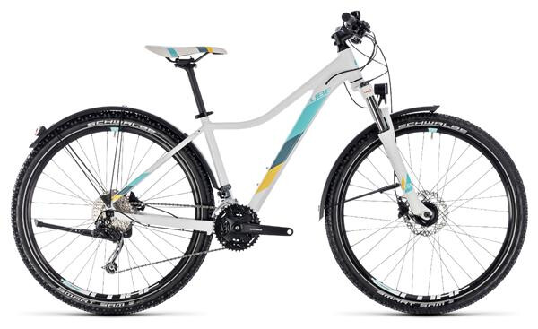 CUBE - Access WS Pro Allroad white´n´blue