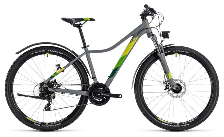 CUBE Access WS Allroad grey´n´green