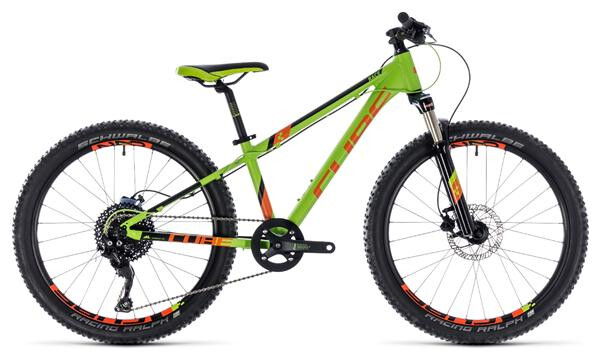CUBE - Kid 240 Race green´n´orange