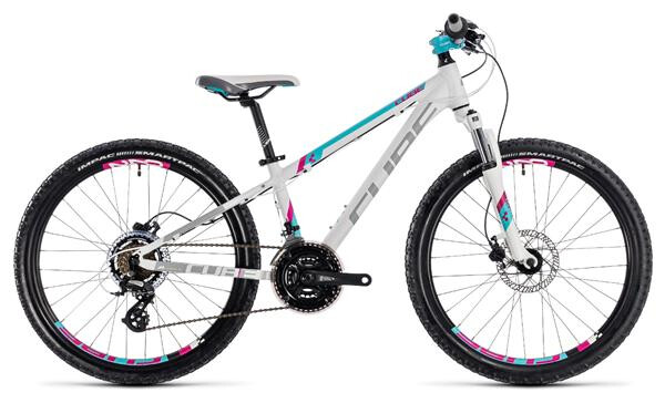 CUBE - Kid 240 Disc girl white´n´aqua