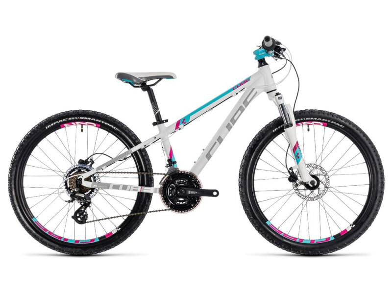 Cube Kid 240 Disc girl white´n´aqua