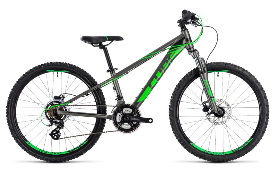 Cube Kid 240 Disc grey´n´flashgreen