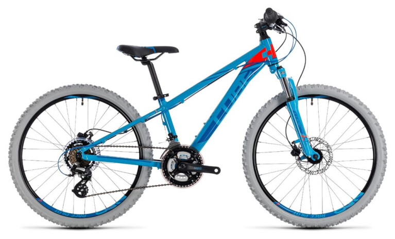 CUBE Kid 240 Disc blue´n´flashred