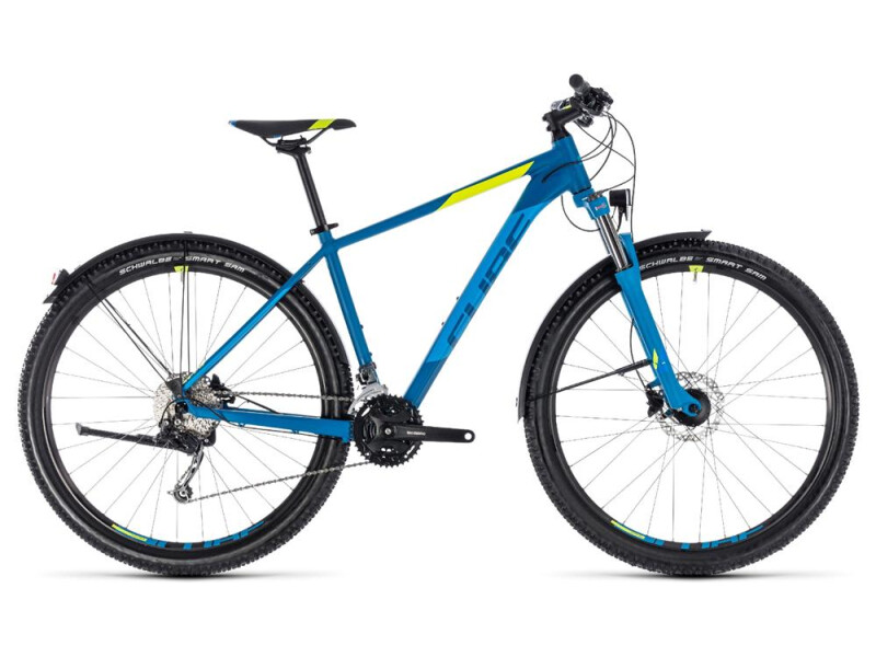 Cube Aim SL Allroad blue´n´flashyellow