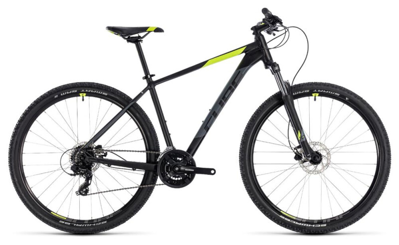 Cube Aim Pro black´n´flashyellow Mountainbike