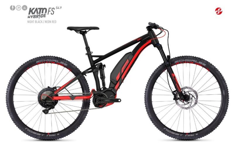 Ghost HYBRIDE Kato FS S4.9 AL U E-Bike