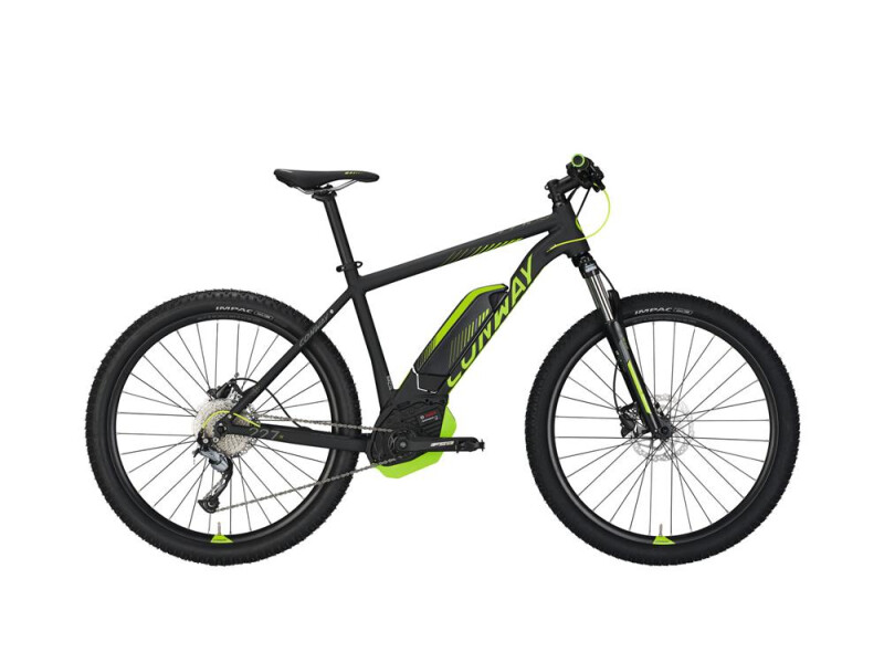 Conway eMR 227 SE 500 black matt/lime -56 cm