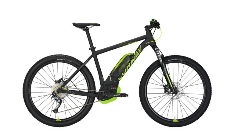 CONWAY eMR 227 SE 500 black matt/lime -44 cm