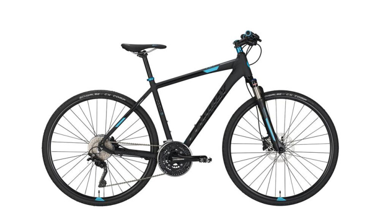 CONWAY CS 701 black matt/blue -60 cm