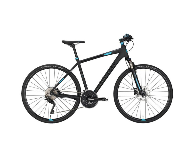 Conway CS 701 black matt/blue -55 cm