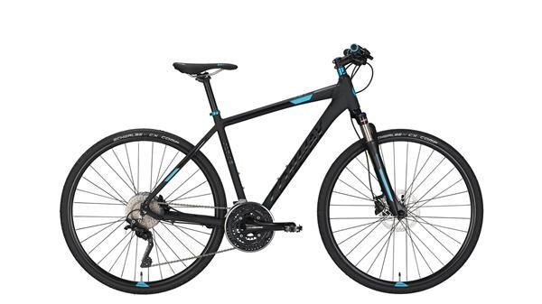 CONWAY - CS 701 black matt/blue -50 cm