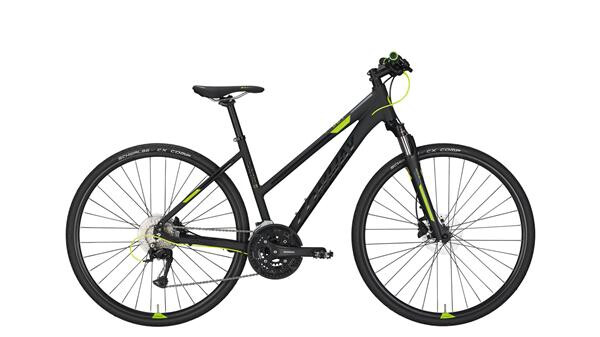 CONWAY - CS 501 Trapez black matt/lime -50 cm