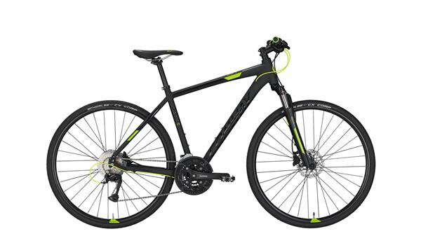 CONWAY - CS 501 black matt/lime -55 cm