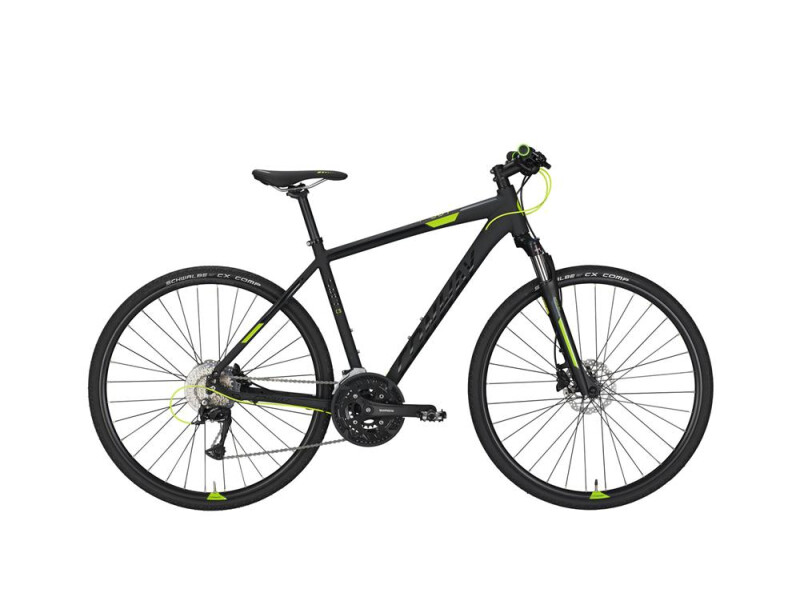 Conway CS 501 black matt/lime -50 cm